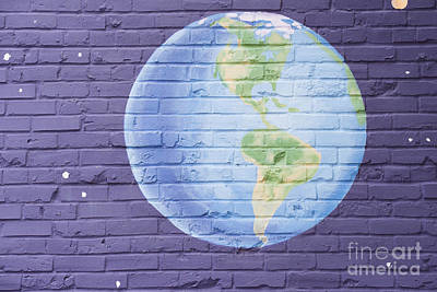 Planet Earth Art Print by Juli Scalzi