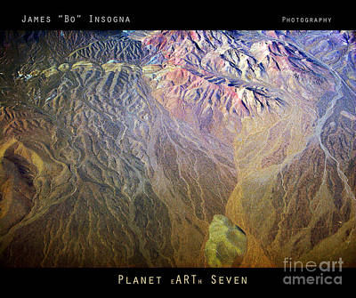 Photograph - Planet Earth Seven by James BO Insogna