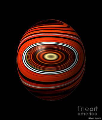 Planet Eye Art Print by Thibault Toussaint