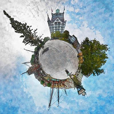 Planet Gelderseplein Rotterdam Art Print