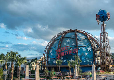 Photograph - Planet Hollywood by Louis Ferreira
