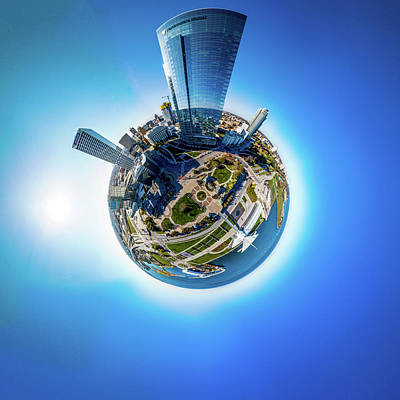 Photograph - Planet Milwaukee by Randy Scherkenbach