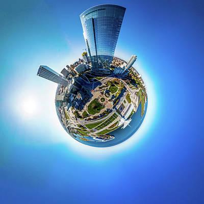 Photograph - Planet Milwaukee by Randy Scherkenbach