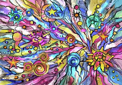 Digital Art - Planet Playground by Jean Batzell Fitzgerald