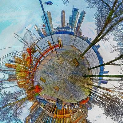 Planet Rotterdam Art Print