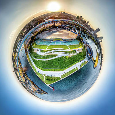 Photograph - Planet Summerfest by Randy Scherkenbach
