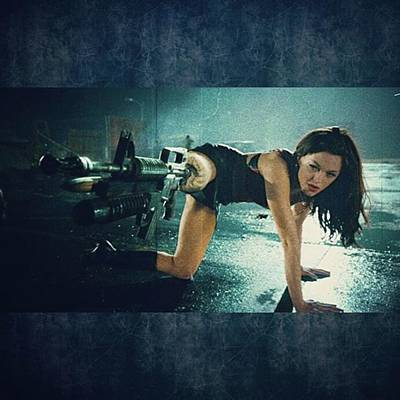 Photograph - planet Terror Was An Awesome Way To by XPUNKWOLFMANX Jeff Padget
