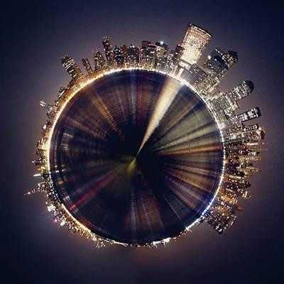 Skylines Wall Art - Photograph - #planet #world #sky #beautiful #art by Rincis Rinalds