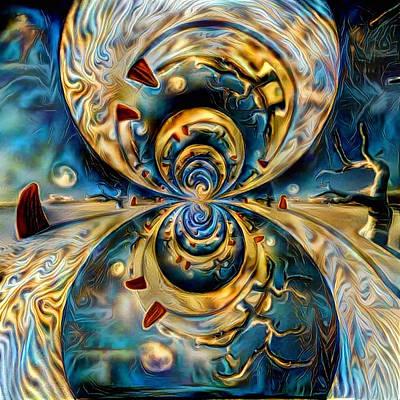 Surrealism Digital Art - Planet Zen by Bruce Rolff
