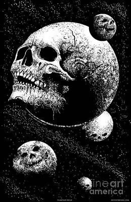 Planetary Decay Art Print