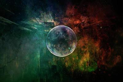 Painting - Planetary Soul Calypso by Christina VanGinkel
