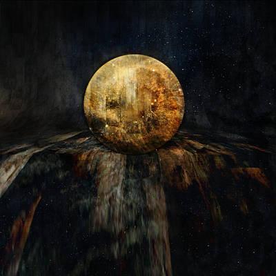 Photograph - Planetary Soul Hyperion by Christina VanGinkel