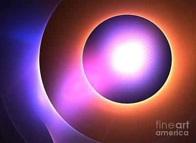 Planetary Spotlight Art Print