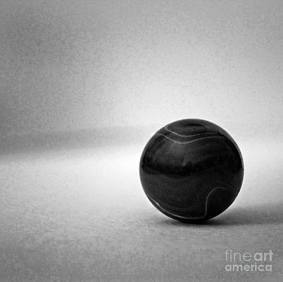 Abstract Digital Photograph - Planetary Study No. 5 Bnw by Skip Willits