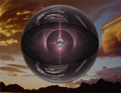 Planetoid Art Print by Mario Carini