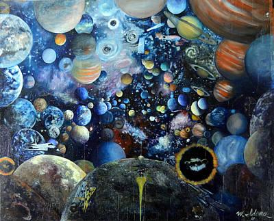 Planets Original by Walter Idema