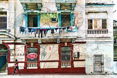 Plano De La Habana Art Print