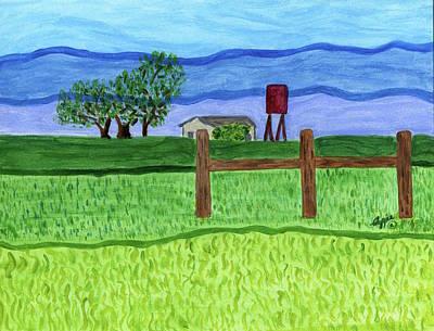 Painting - Auburndale, Florida by Stephanie Agliano