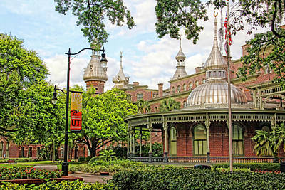 Photograph - Plant Hall University Of Tampa by HH Photography of Florida