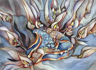 Plant Life Below Art Print by Liduine Bekman