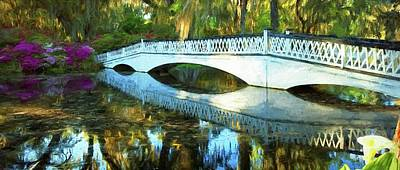 Photograph - Plantation Bridge by Frank G Montoya
