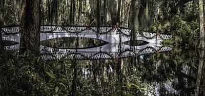 Photograph - Plantation Bridge Over Swamp by John McGraw