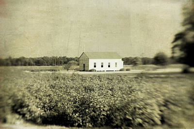 Pellegrin Photograph - Plantation Church by Scott Pellegrin