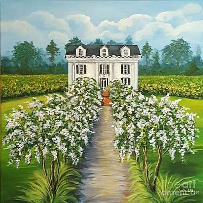 Painting - Plantation Home by Sandra Lett