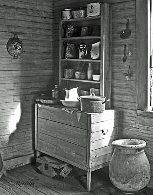 Photograph - Plantation Kitchen by Cheri Randolph