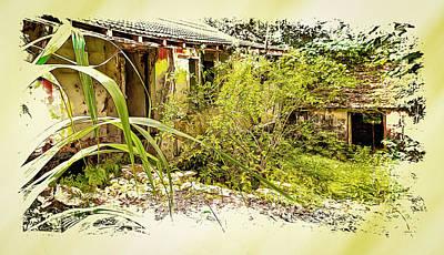 Photograph - Plantation Ruins II by John M Bailey