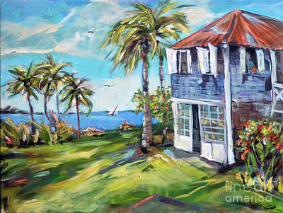 Painting - Plantation View by Linda Olsen