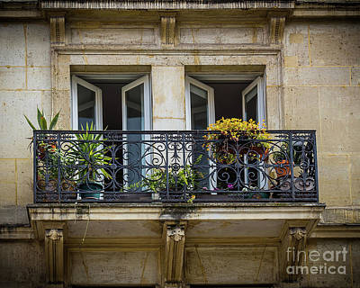 Photograph - Planted Balcony by Perry Webster