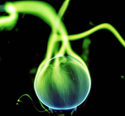 Photograph - Plasma Blaster by Tyson Kinnison