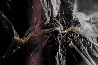 Photograph - Plastic Bag 04 by Grebo Gray