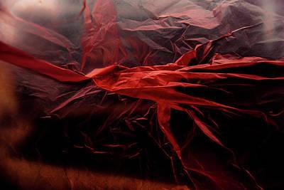 Photograph - Plastic Bag 05 by Grebo Gray