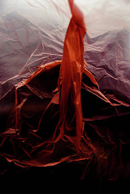 Photograph - Plastic Bag 07 by Grebo Gray