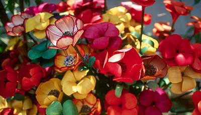 Photograph - Plastic Flowers by Douglas Pike