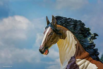 Photograph - Plastic Mustang by LeeAnn McLaneGoetz McLaneGoetzStudioLLCcom