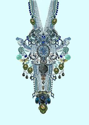 Plastron-jewels Necklines Art Print