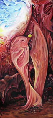 Painting - Plasty by Richard Mountford