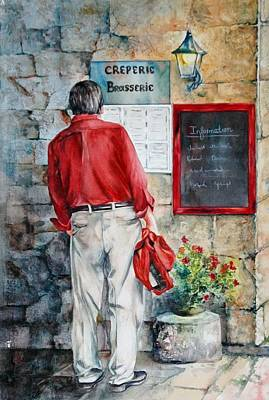 Painting - Plat Du Jour by Diane Fujimoto