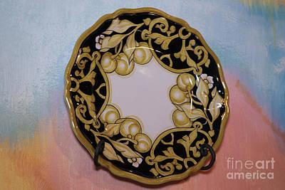 Ceramic Mixed Media - Plates by Agikons