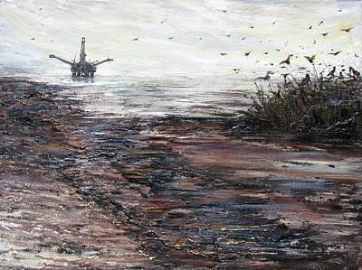 Platform Art Print by Judy Merrell