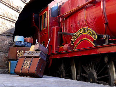 Photograph - Platform Nine And Three Quarters by Julia Wilcox