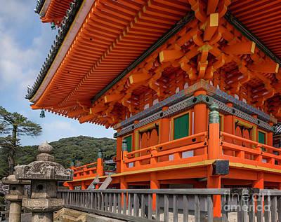 Photograph - Platform Of Kiyomizudera Pagoda by Karen Jorstad