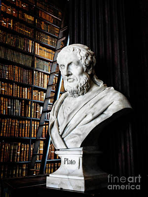 Photograph - Plato A Writer Of Knowledge by Lexa Harpell