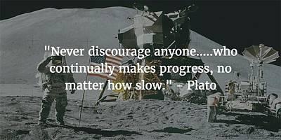 Photograph - Plato Quote by Matt Create