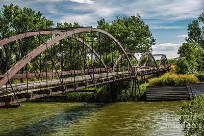 Photograph - Platte River Bridge by Jon Burch Photography