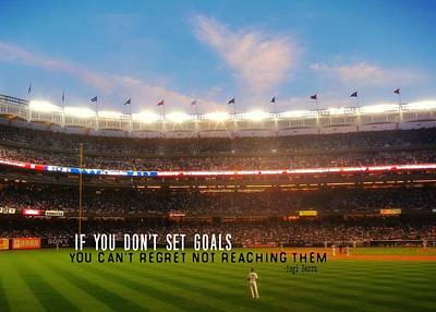 Play Ball Quote Art Print by JAMART Photography