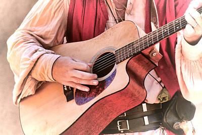 Photograph - Play Guitar by Steve McKinzie